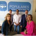 El PP pide a la alcaldesa que se vaya por decencia al consentir las chapuzas de Adif en San Andrés