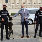 La Policía Local de León estrena una Sección Canina especializada en la detención de drogas y otras sustancias