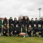 El equipo femenimo del universidad de león sprint atletismo regresa a la competición en el campeonato autonómico de clubes absolutos