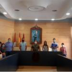 Recepción oficial a la delegación francesa de Gennevilliers