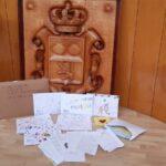 Alumnos de diferentes colegios de San Andrés envían muestras de apoyo a La Palma